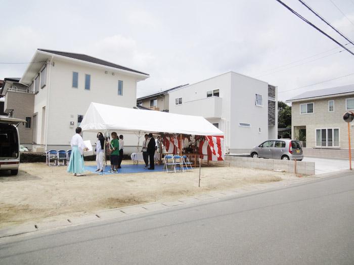 1408熊本市東区戸島S様邸地鎮祭-ヤマックス炭の家1.jpg