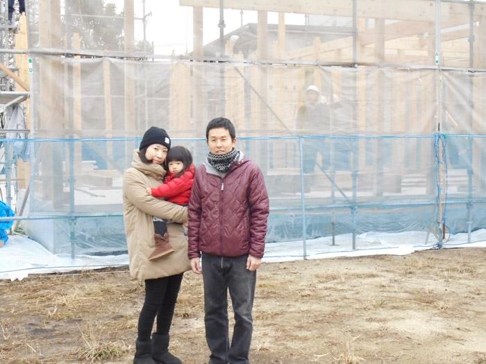 ヤマックス平屋の家上棟式熊本市東区小山U様邸