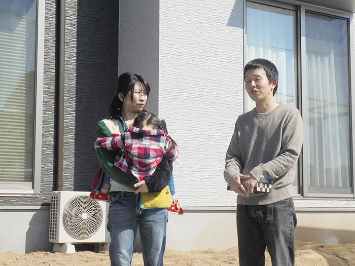 ヤマックス平屋の家上棟式熊本市東区小山U様邸引き渡し式
