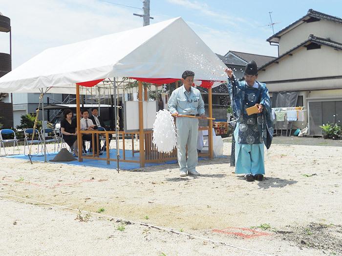 ヤマックス炭の家地鎮祭熊本光の森K様邸2.jpg