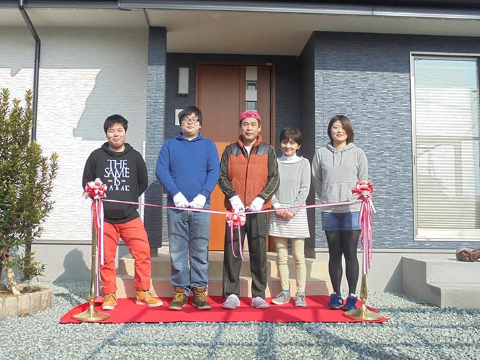 ヤマックス炭の家熊本市北区植木町H様邸お引き渡し式1.jpg