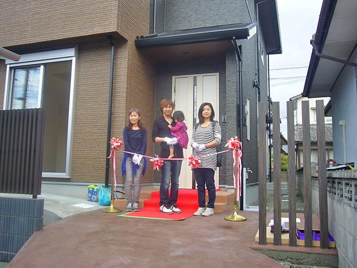ヤマックス炭の家熊本新築ナチュラルモダン引き渡し