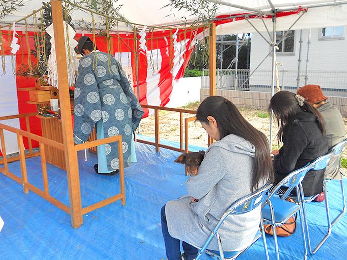 ヤマックスyamax家地鎮祭熊本市南区h邸