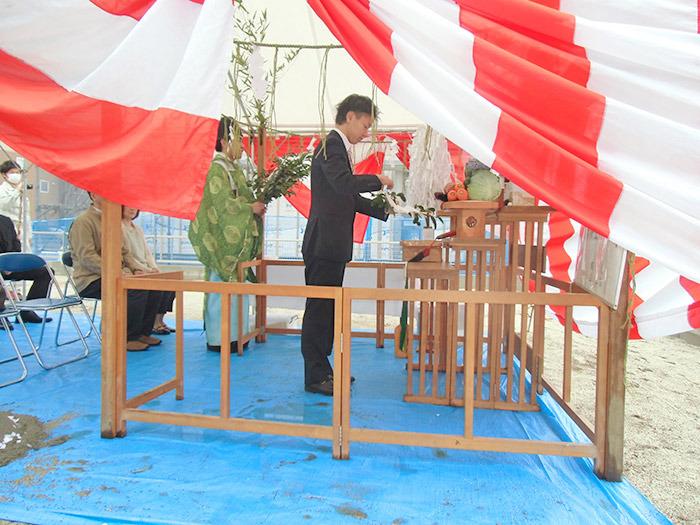 ヤマックスyamax家新築光の森北分譲地地鎮祭2.jpg