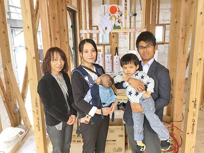 ヤマックスyamax家新築熊本市山室分譲地H邸上棟式8.jpg