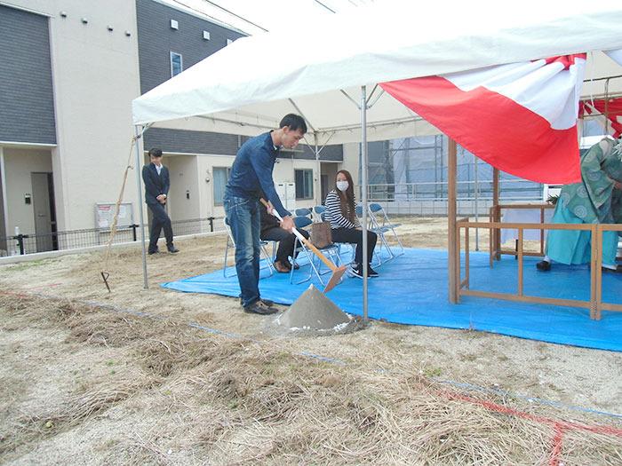 ヤマックスyamax新築炭の家合志市須屋H様邸地鎮祭1.jpg