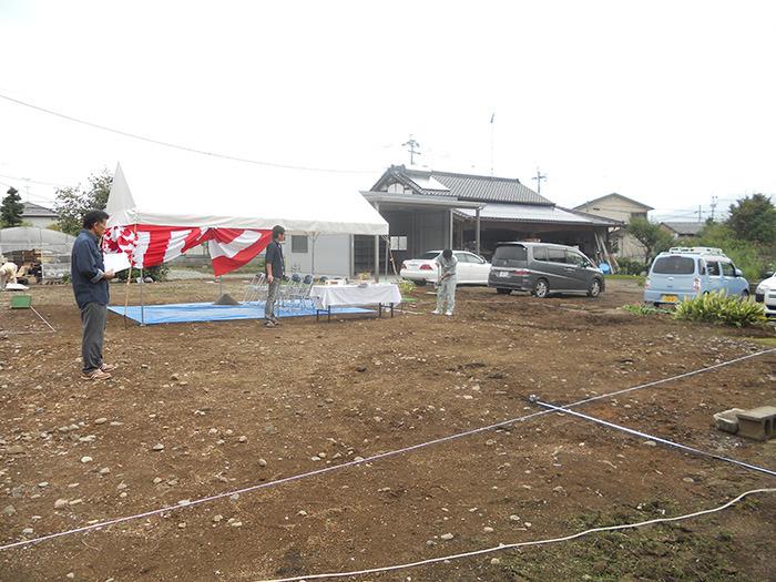 ヤマックスyamax新築炭の家平家熊本地震N邸地鎮祭2.jpg