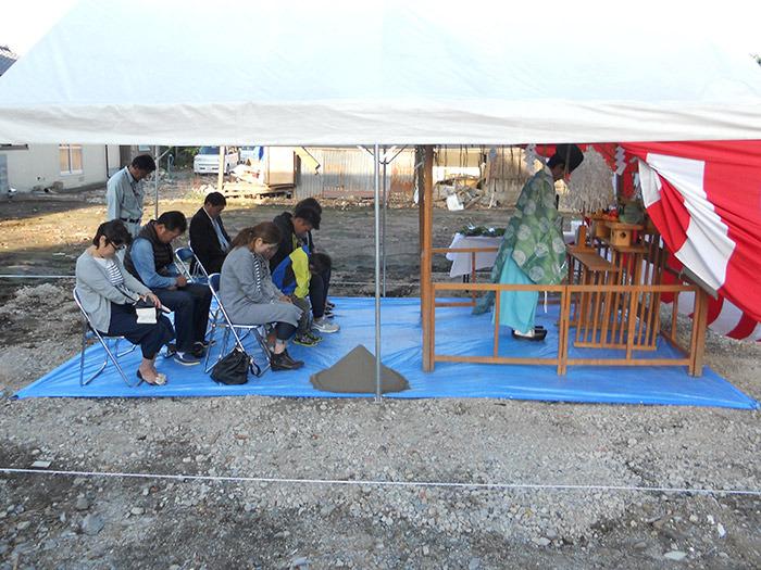 ヤマックスyamax新築炭の家熊本市二本木Y邸地鎮祭1.jpg