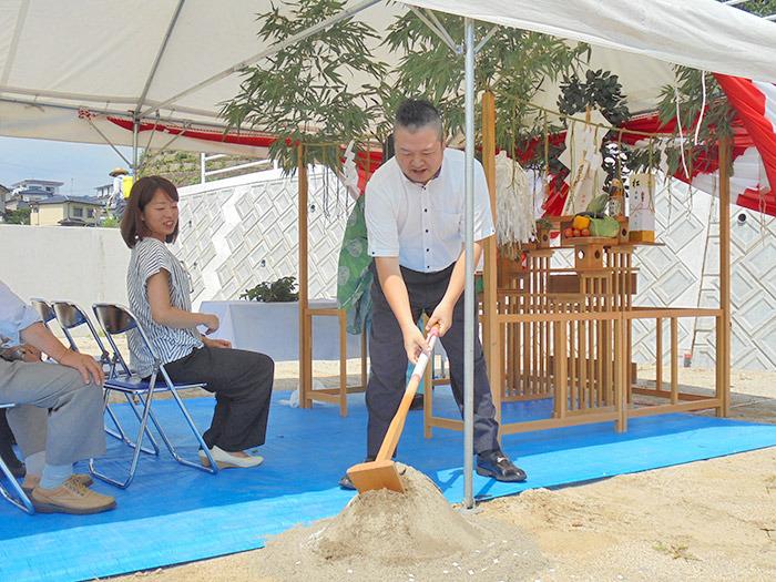 ヤマックスyamax新築炭の家熊本市北区山室M邸地鎮祭2.jpg