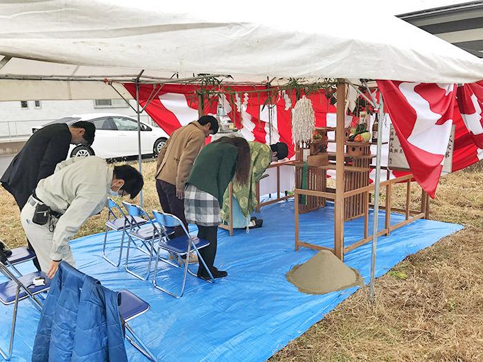 ヤマックスyamax新築熊本炭の家嘉島町U邸地鎮祭1.jpg