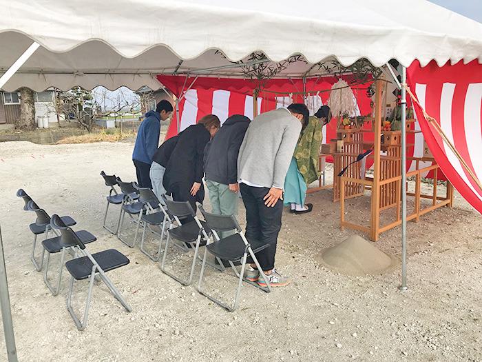 ヤマックスyamax新築熊本炭の家熊本市南区50坪の平家地鎮祭1.jpg