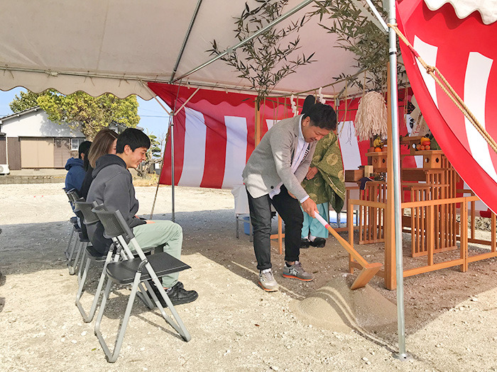 ヤマックスyamax新築熊本炭の家熊本市南区50坪の平家地鎮祭3.jpg