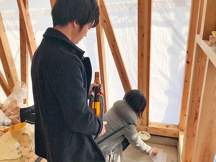 ヤマックスyamax新築熊本炭の家須屋駅東分譲地I邸上棟式3.jpg