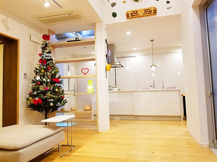 ヤマックスyamax新築熊本炭の家クリスマスツリー1.jpg