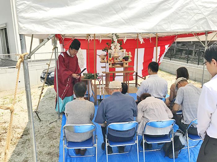 ヤマックスyamax新築熊本炭の家熊本市北区U邸地鎮祭1.jpg
