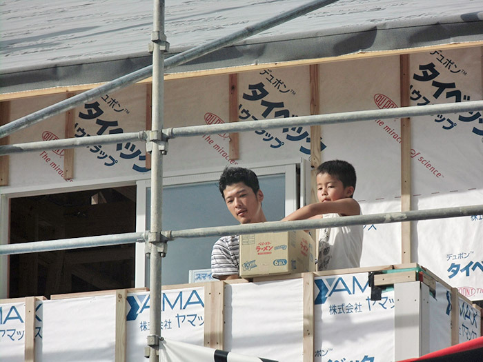 ヤマックスyamax新築熊本炭の家球磨郡山江村K邸上棟式8.jpg