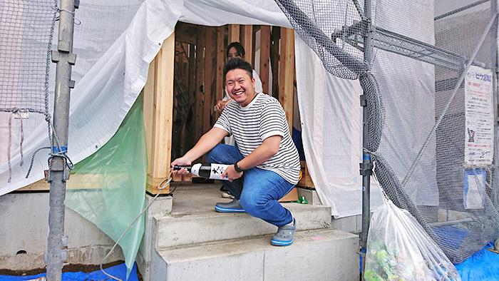 ヤマックスyamax新築熊本炭の家菊池郡菊陽町にじの森K邸上棟式1.jpg