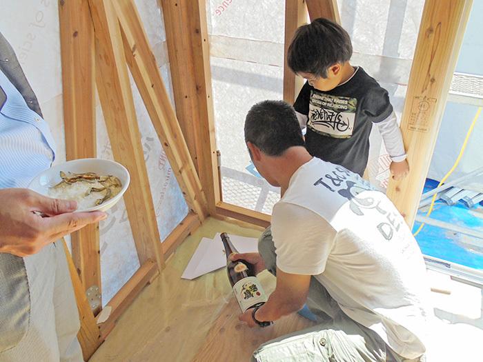 ヤマックスyamax炭の家上棟式阿蘇西原村2.jpg