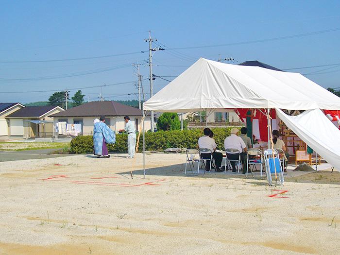 ヤマックスyamax炭の家新築地鎮祭阿蘇西原村t様邸
