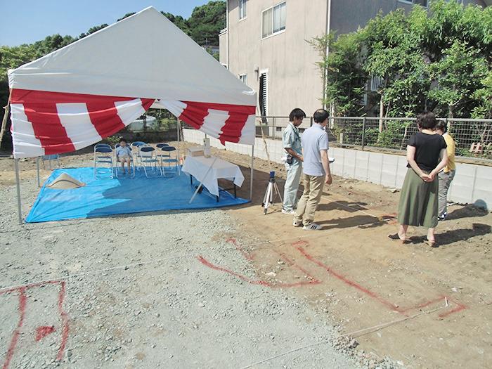 ヤマックスyamax炭の家新築熊本市春日H邸地鎮祭1.jpg