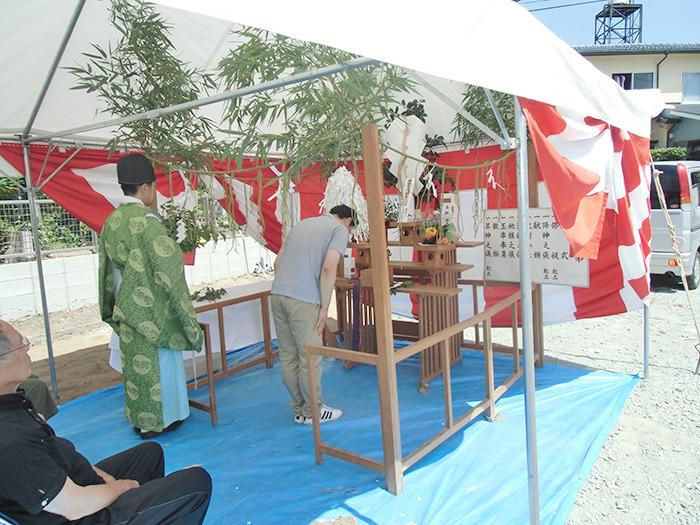 ヤマックスyamax炭の家新築熊本市春日H邸地鎮祭4.jpg