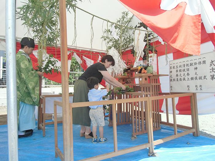ヤマックスyamax炭の家新築熊本市春日H邸地鎮祭5.jpg